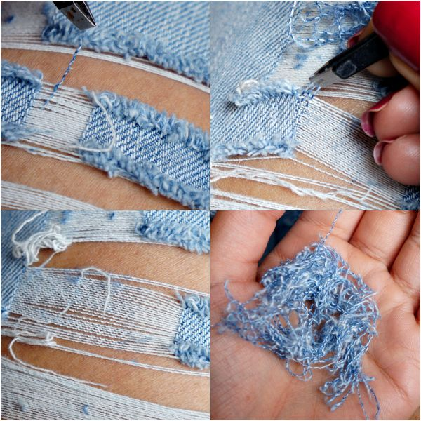Creative ways to re style old clothes there are a lot of different things you can do with your old jeans ripped jeans making a comeback so what you can do is to simply cut some parts on your solutioingenieria Gallery