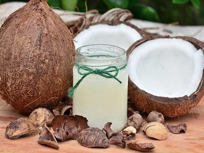 coconut oil face pack