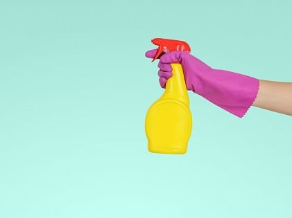 gloves disinfect cleaning